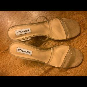 Steve Madden Issy clear sandal